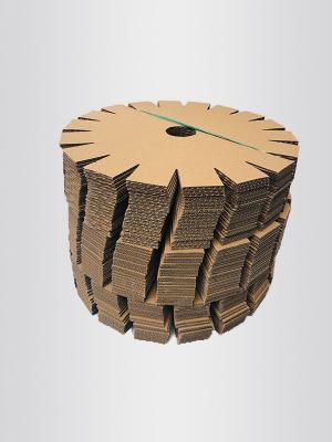 圆型端头纸盖板